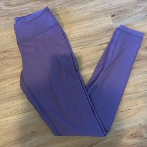 Zella purple leggings XS